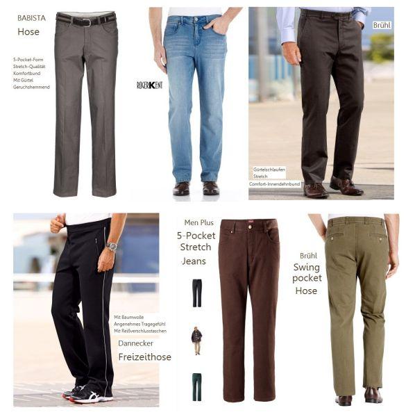 Starke Jeans und Hosen für Herren