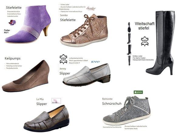 Schuhe aus<br> Versandhaus<br>Restposten 1A-Ware