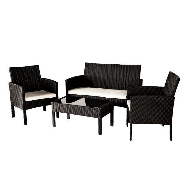 Poly Rattan Lounge<br> Sitzgruppe Rattan<br>Sofa Sitzgar