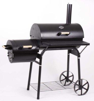 XL Smoker BBQ<br> GRILLWAGEN<br> Holzkohle Grill ...