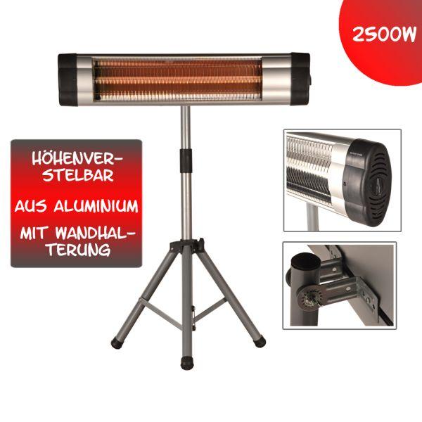 2500 Watt Infrarot<br> Heizstrahler<br>Standheizer Terass