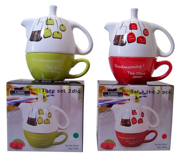 Tee Set Tea for One (2 Designs)