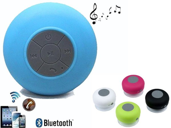 Bluetooth shower<br>speaker (4 designs)