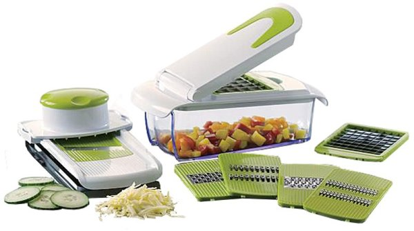 All-in One chopper<br>and mandoline slicer