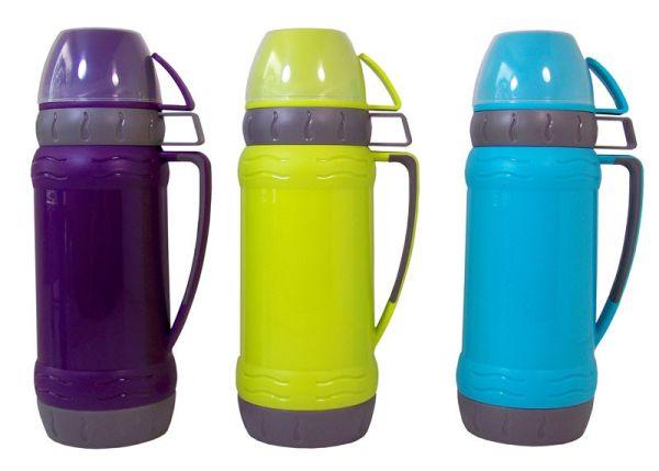 Thermoskanne mit 3 Tassen (1 Liter))