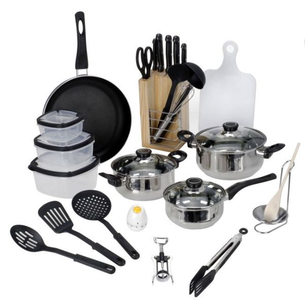 Starter cookware<br>set (25 pcs)