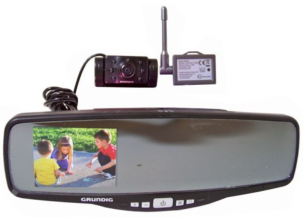 Wireless rearview<br>camera system