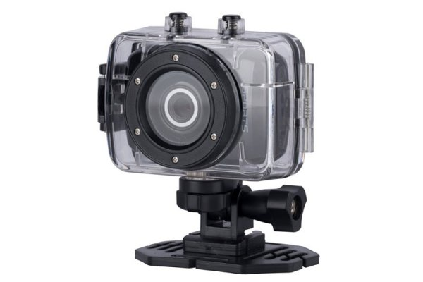 Action-camera (with waterproof housing)
