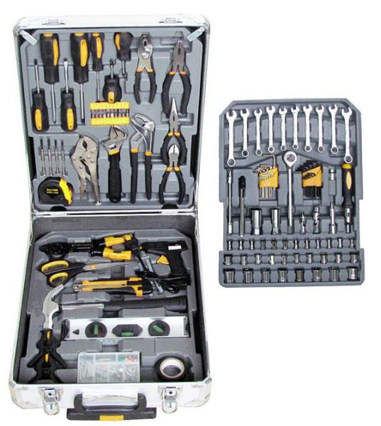 Handtoolset  in case