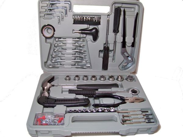 Tool set, 141-pcs