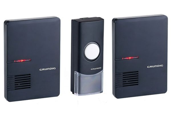 Wireless doorbell<br>(2 receivers)