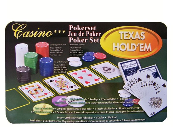 Pokerset, 200 Chips
