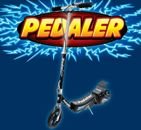 Pedaler-Scooter.