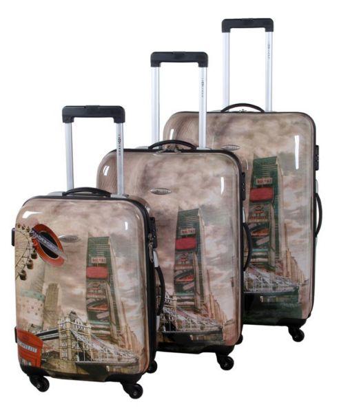 Kofferset ABS (3 tlg).
