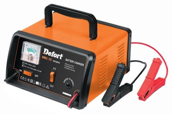 Battery charger<br>(6V - 12V)