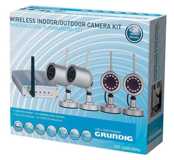 Funkkamera-Set (Innen und Aussen)