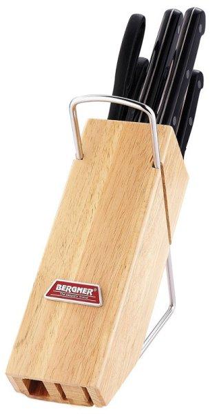 Messerblock mit 5<br>Messern und Scheren