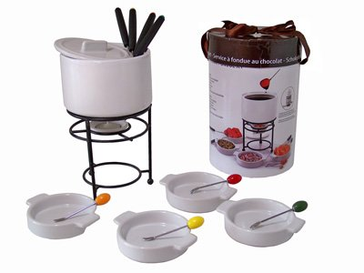Chocolate fondue<br>set (17 pcs)