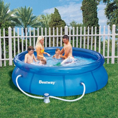 Fast Set Pool with<br>Pump (305x76cm)