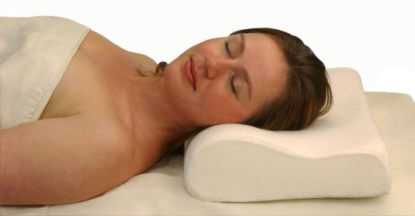 Memory health<br> pillow with neck<br>support