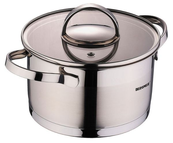 Stainless steel<br> pan with lid (1.75<br>liters)