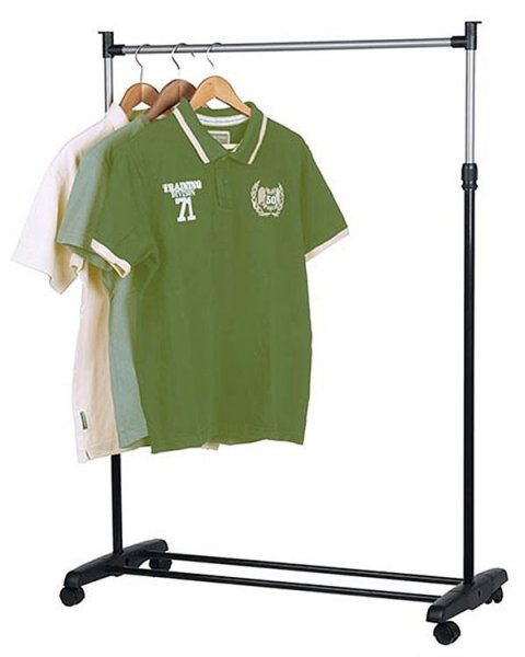 Mobile clothes<br>rack (single)