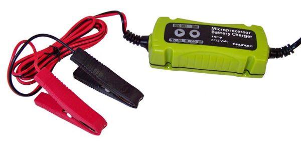 Smart charger 1<br>Amp. (6V / 12V)