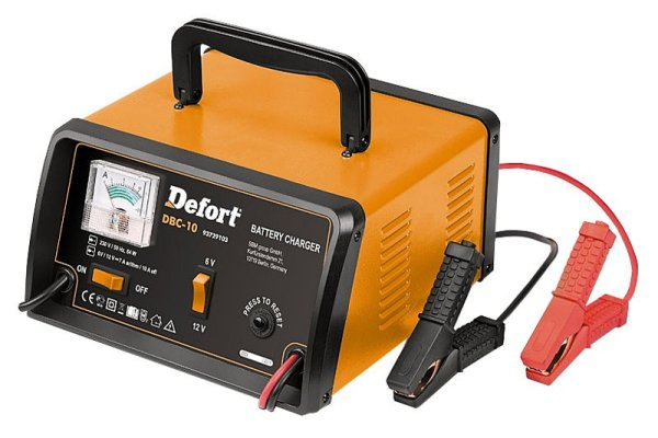 Car battery<br>charger (6V / 12V)