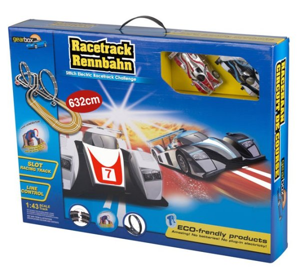 Racetrack with<br> handgenerator<br>(632cm)