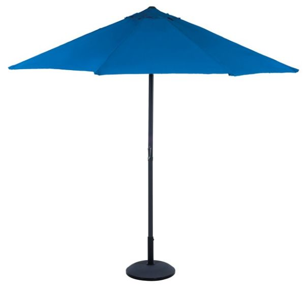 Parasol with<br>crank, 2,70m (blue)