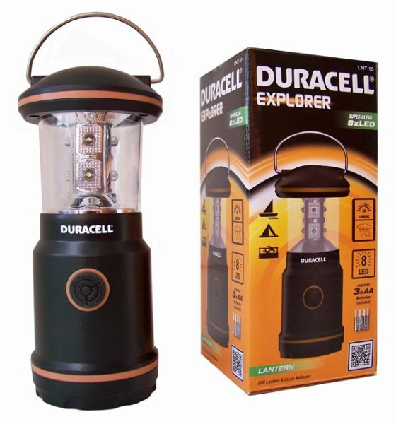 Camping Laterne (8 LEDs)