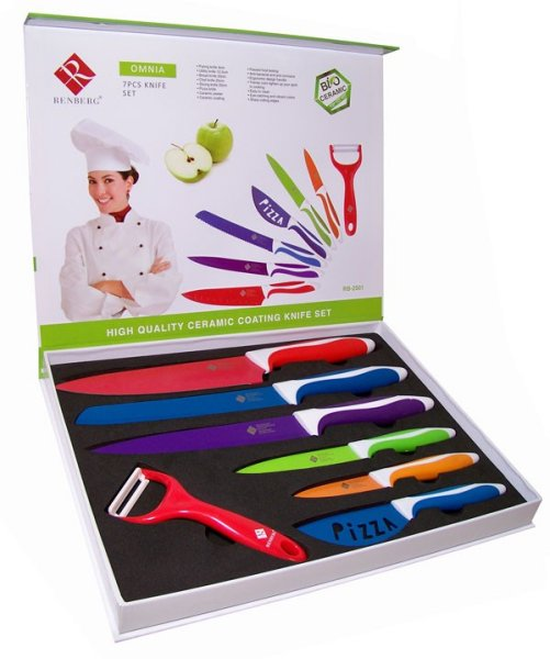 Ceramic knife set (7 pcs)
