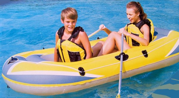 2-Personen-Boot Naviga. (234x135cm)
