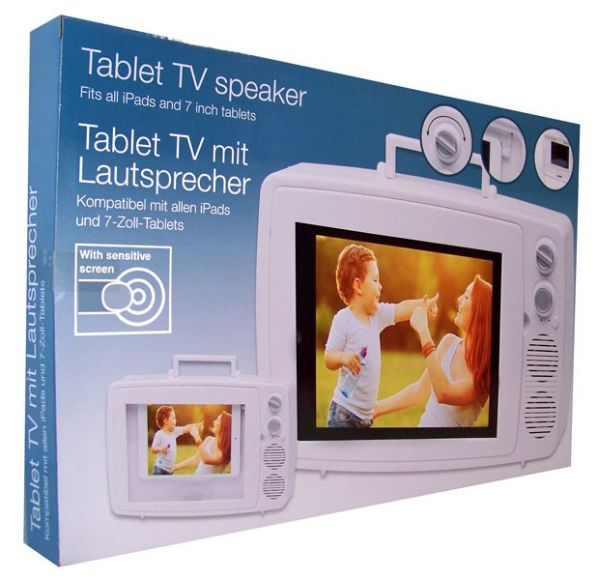 Tablet TV speaker