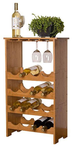 Wein-, Glasregal