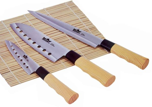Knifeset Nara (3<br>pcs) in wooden box