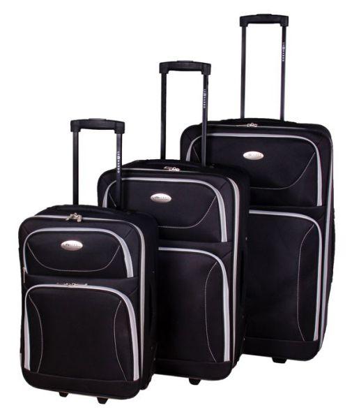 Kofferset schwarz<br>(3 tlg)