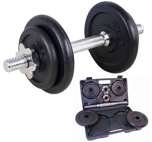 Dumbbell Set in<br>Koffer (10 kg)