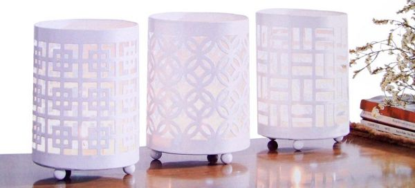 Tea Light Holders<br>(Set of 3)