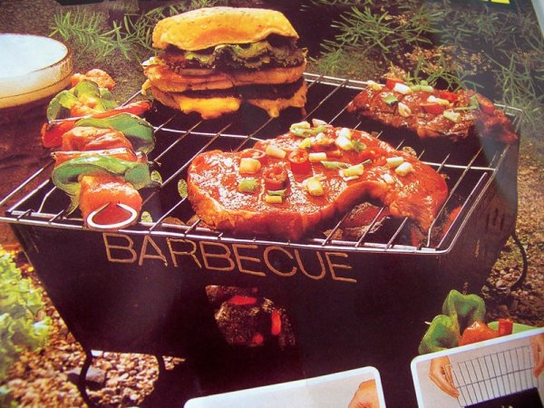 Faltbare Barbecue