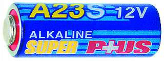Batterie McPower A23,12V,28x10mm Alkaline