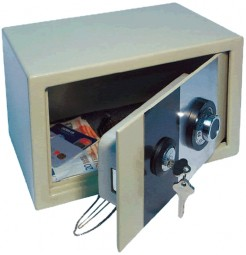 Safe with combination lock tanks 10 kg