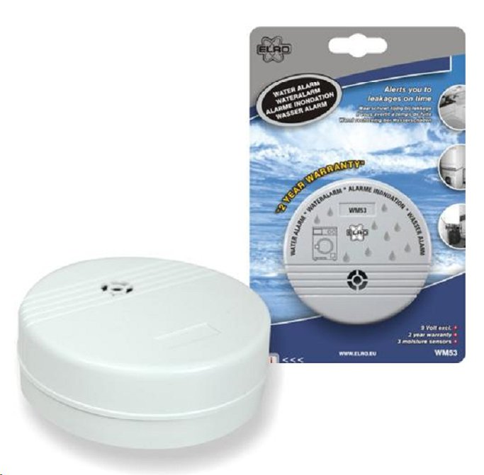 Elro WM53 water<br> detector, secure<br>protection agains