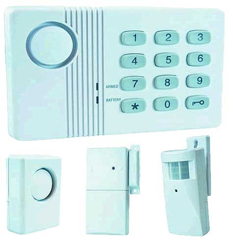 Wireless alarm<br> system - Complete<br>Set