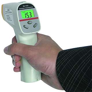 Infrarot-Thermometer McCheck IRT-2 mit Laser, 0...