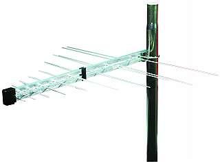 DVB-T roof<br> antenna, active<br> UHV / VHF, hor + ...