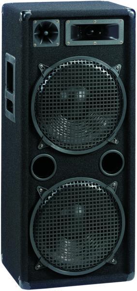 PA-1500 Pro DJ Hollywood Box 2x38cm bas / MT + HT,