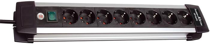 Brennenstuhl<br> Premium  Aluminum<br>Line  10 Way Surge