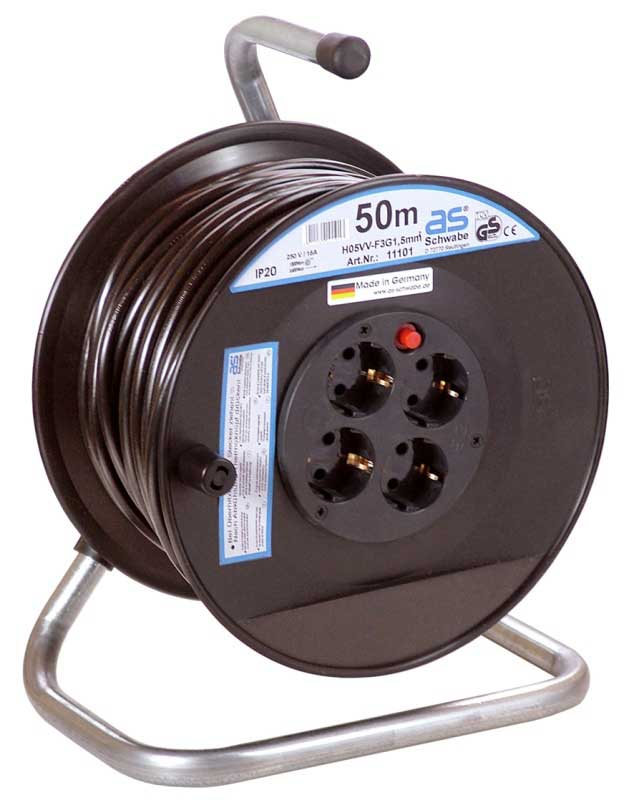 Schwabe action<br>cable reel 50 m