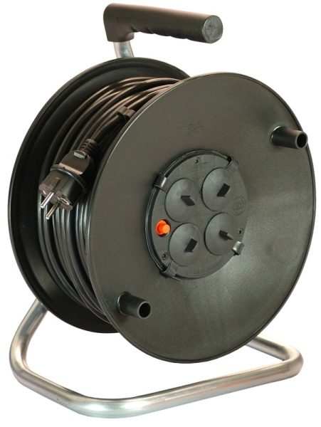 Schwabe cable reel<br> 50m, H05RR-F 3 G<br>1, 5